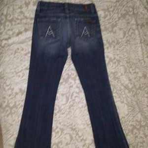 7 FOR ALL MANKIND JEANS - A Pocket Bootcut